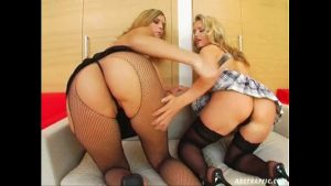 Image Ass Traffic Two blondes get butt-fucked and facialed with hot cum