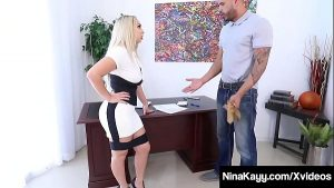 Image Big Booty Boss Nina Kayy Is Ass Banged By BBC Underling!