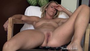 Image Blonde Skyla Toying Her Pussy And Ass