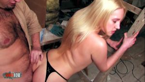 Image Fucking a beautifull blonde with tight pussy and fucking her in the ass