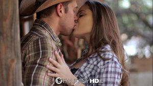 Image HD FantasyHD – Cowgirl Dani Daniels rides dick at the farm