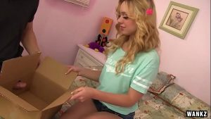 Image Lucy Tyler Enjoys A Dick In A Box From Her Man On Her Birthda HD
