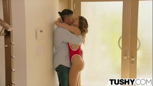 Image TUSHY College teen learns intense anal