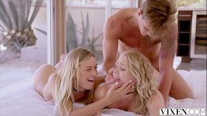 Image VIXEN Mia Malkova and Natalia Starr share a HUGE cock!!
